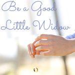 Be a Good Little Widow